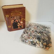 Masterpieces Gone With The Wind 1000 Piece Jigsaw Puzzle Book Box  New Free Ship