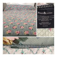 Ralph Lauren Cottage Lane Floral Queen Duvet Cover Rare Vintage Clean Gorgeous