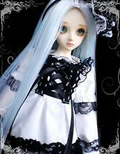 [wamami] For 1/4 MSD AOD DZ BJD Dollfie 142# Black Lace White Dress/Suit/Outfit