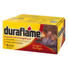 Duraflame Firelogs 6 Pack 4 Hour 6 lbs Fire Logs Fireplace Wood Stove Burner New