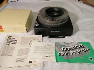 Vintage Kodak Carousel Custom 850H Slide Projector NEW WORKING