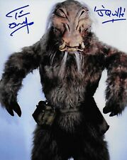 Photo - Tim Dry in person signed autograph - Star Wars - J'Quille - J43A