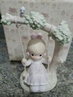 Precious Moments Enesco 1991 My Warmest Thoughts Are You 524085 New In Box