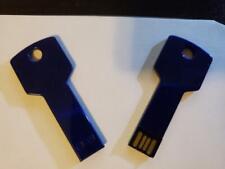 32 GB Flash Drive Key Design Navy Color ( Stock # O4 )