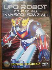 DVD GLI UFO ROBOT CONTRO GLI INVASORI SPAZIALI 1975 EDIZIONE RESTAURATA  ( G3 )