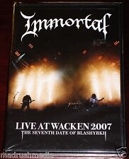 Immortal: Live At Wacken 2007 DVD+CD 2 Discos Set 2010 Nuclear Blast 2511-9