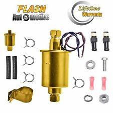 NEW UNIVERSAL ELECTRIC FUEL PUMP&INSTALLATION KITS 12V 30GPH 5-9PSI E8012S F