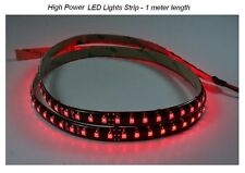 LED Light Strip HIGH POWER Red color for Auto Airplane Aircraft Rv Boat Interior