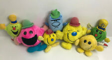 MR. MEN SHOW - PLUSH COLLECTION - 1970S/1980S/1990S - MR HAPPY,CHATTERBOX,FUNNY