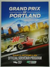 2018 Grand Prix of Portland IndyCar Official Souvenir Program Takuma Sato
