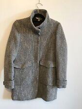 Zara Trafaluc Grey Korean Neck Coat. Size M