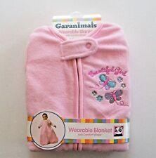Garanimals Wearable Blanket Pink Baby Sleeping Bag Sleep Sac Beautiful Girl