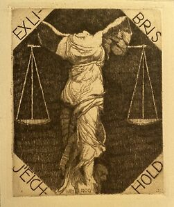 Exlibris von Wilm, 1909