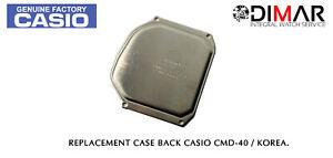 Vintage Cover/Case Back For Casio CMD-40 Korea. NOS