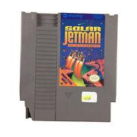 Nintendo NES Solar Jetman Golden Warship Game NTSC USA Tested & Working