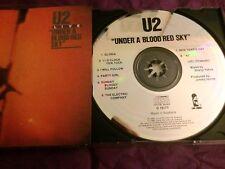 U2 RARE ORIGINAL Australian Festival Pressing Under a Blood Red Sky MISSPRESS CD