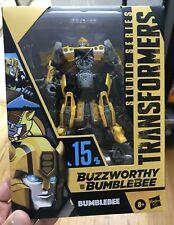 Transformers Studio Series Deluxe Class 15 Buzzworthy Bumblebee Highway Freedom