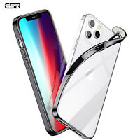 ESR Case for iPhone 12 Mini Pro Max 2020, Soft TPU Frame Funda Clear Back Cover