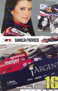 2006 Danica Patrick Argent Mortgage Honda Panoz Indy Car Hero Card