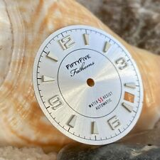Imperfect Dagaz Fifty Five Fathoms Silver Dial for Seiko 3 o'clock ~ US Seller