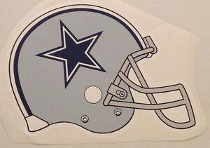 "Dallas Cowboys FATHEAD Alternate Team Helmet 17"" x 12"" Official NFL Graphics"
