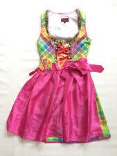 Stockerpoint Dirndl Fluxy pink 38 40 42 Bergfeuer Tracht Kleid Wiesn Midi Karo