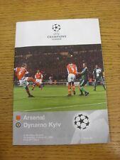 21/10/1998 a Wembley: Arsenale V Dinamo Kiev Coppa dei Campioni [] (lievi contrassegnato).