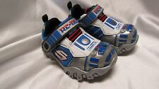 TODDLER BOY`S STAR WARS SKECHERS ATHLETIC SNEAKERS SIZE 7TODDLER NEW #97022N SIL
