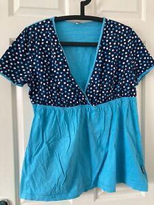 Nursing Pajama Set Summer Breastfeeding Pyjamas Shirt and Shorts Pregnancy Breastfeeding Sleepwear Nightwear Loungewear ORETG45 Maternity Nursing