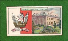ALTHORP HOUSE  The EARL SPENCER Family Arms  Home of Princess Diana 1909 print