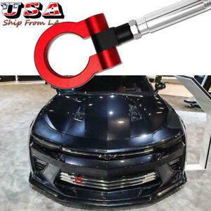 Red Track Racing JDM Style CNC Aluminum Tow Hook For Chevrolet Camaro 2016-2019