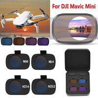 Pour DJI Mavic Mini RC Drone Camera Optical Glass Lens Filter ND4 8 16 32 Filtre