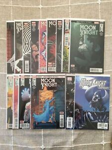 Moon Knight 188-200 NM 2017 Complete, with Extras, Marvel, Bemis, 1st Prints