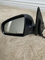 2005 2006 2007 2008 AUDI A6 LEFT DRIVER SIDE DOOR MIRROR GRAY USED OEM