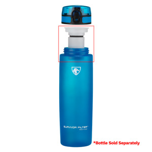 Active Replacement Filter for Survivor Filter Water Bottle, Made In USA