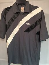 Mens XL USA Pixies Collection Classic Short Sleeve Shirt Polo Gray Black A05