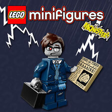 LEGO Minifigures #71010 - Halloween / Monsters - Zombie Businessman - Sealed