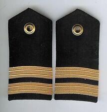 Pair Obsolete Canadian Navy Lieutenant Female Shoulder Boards