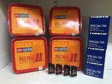 4 x Pall Mall Allround Mega Box Volumen Tabak 240g, 1000 Hülsen, 4 Feuerzeuge