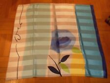 FOULARD DONNA 100% poliestere Made in Italy cm. 87 x 87