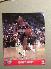 ISIAH THOMAS PHOTO -  NBA HOOPS 1990
