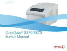 Xerox ColorQube 8570/8870 Printer Service Manual 433 Pages Cube *PAPER not PDF*