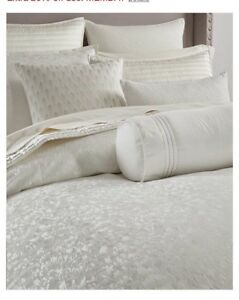 Hotel Collection Plume King Duvet Cover +Two King Shams+ Bedskirt. Brand New!