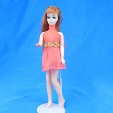 Vintage Topper Dawn Doll GLORI in Original Red Mini Dress Fashion Outfit K11