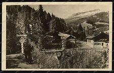 Grenze-Kleinwalsertal-Riezlern-1952-Sondertarif-Grenzgasthof-