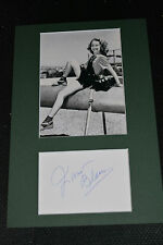 Janet Blair signed original autographe IP a4 passe-partout +2007 hypnothérapie