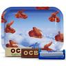 Tobacco Rolling Bundle OCB Tray,Org Hemp & Virgin 1 1/4 Paper,roller otseuo2-sml