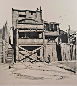 The Prospect Of Whitby Wapping Wall E1 The Back W Fairclough 1946 Vintage Print
