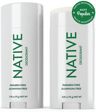 Details about Native MENS Natural Deodorant Eucalyptus & Mint ALUMINUM FREE SHIP
