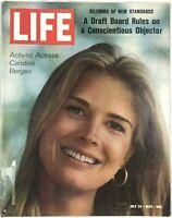Vintage LIFE Magazine Activist Actress Candice Bergen July 24 1970 Vol. 69 No. 4